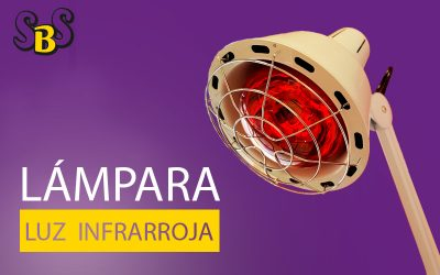 Lámpara luz infrarroja para Fisioterapia